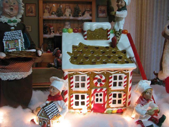 Gingerbread house luminary!