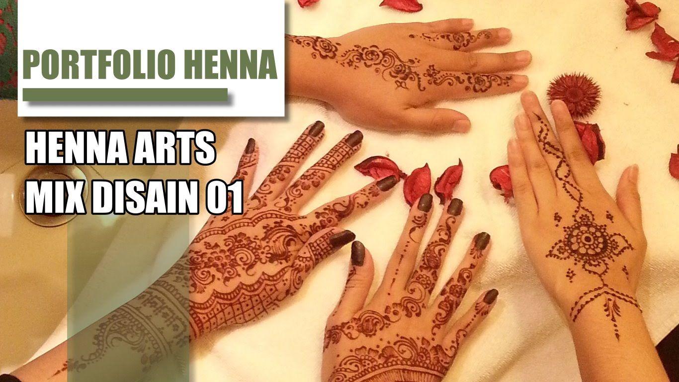 Gambar Henna Henna Tatto Portfolio Lukis Henna Henna Gambar Henna