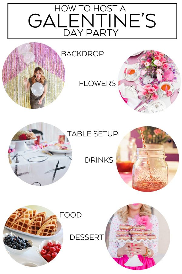 How to Throw a Galentine's Day Party | Best of Pinterest ...