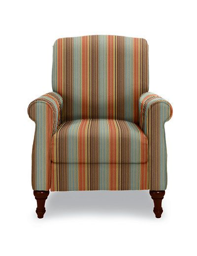possible Lazy boy accent chair - recliner with pattern fabric ...