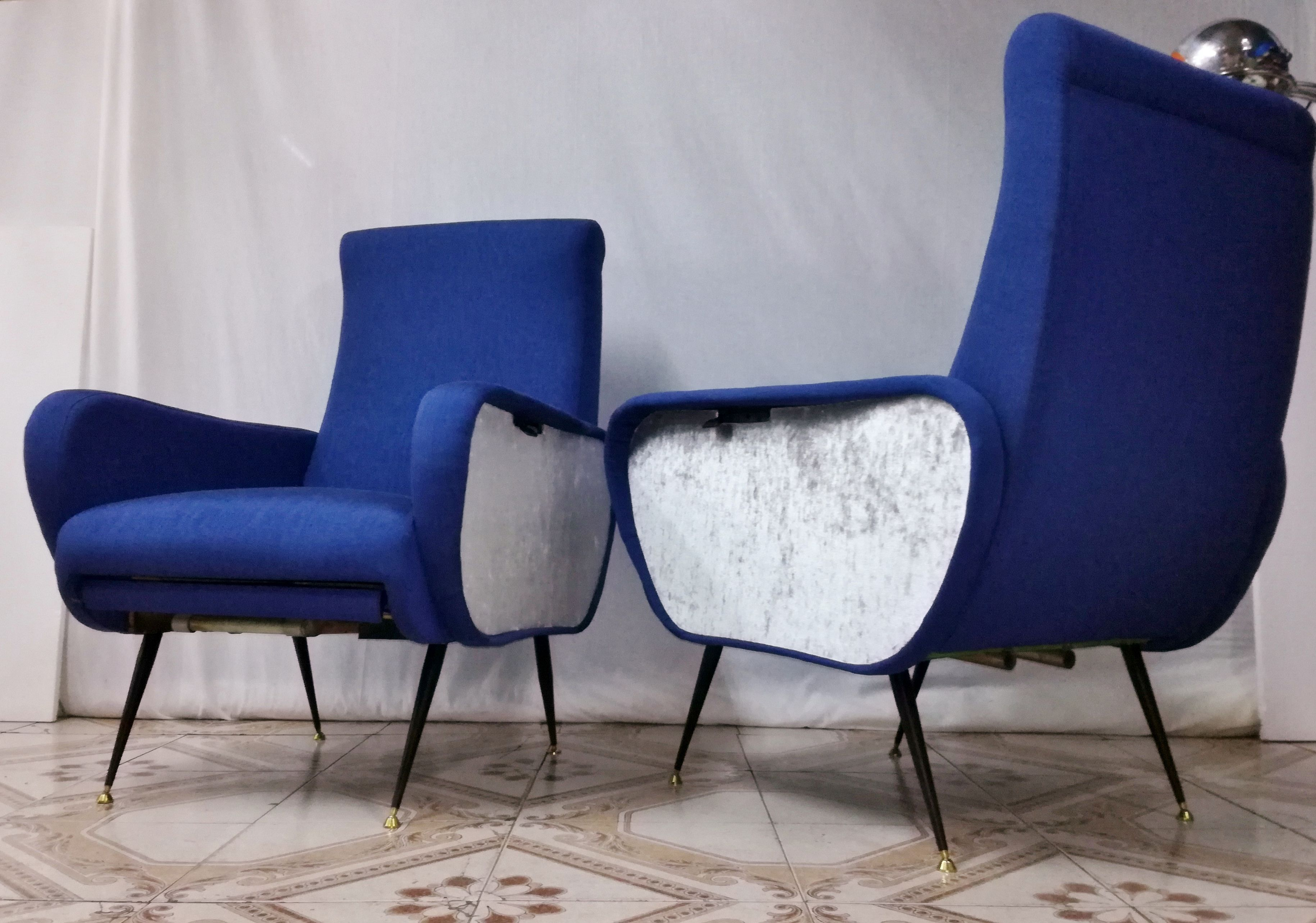 Sedie Reclinabili ~ Poltrone reclinabili armchairs chaises design style marco zanuso