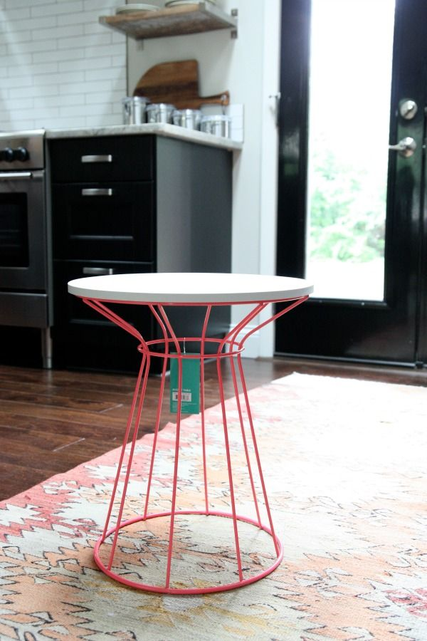 Wonderful Target Wire Side Table Uplift. I Have This Table! Just Deciding What Colour  To