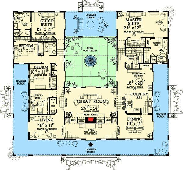 93ec60b955fe177336e5bdaf6cd2426c spanish villas designs بحث google house plans pinterest,Google Home Plans