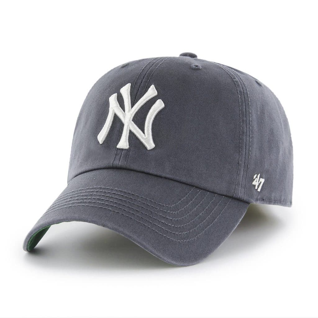 6b21dd8732cca New York Yankees 47 Brand Vintage Navy Franchise Fitted Hat in 2019 ...