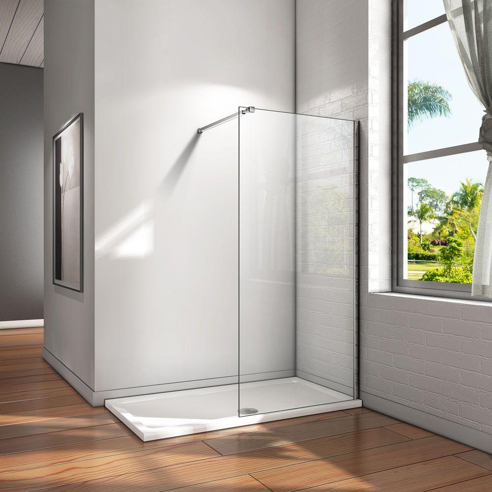 Details Zu Walk In Dusche Duschwand Nano Glas Duschkabine