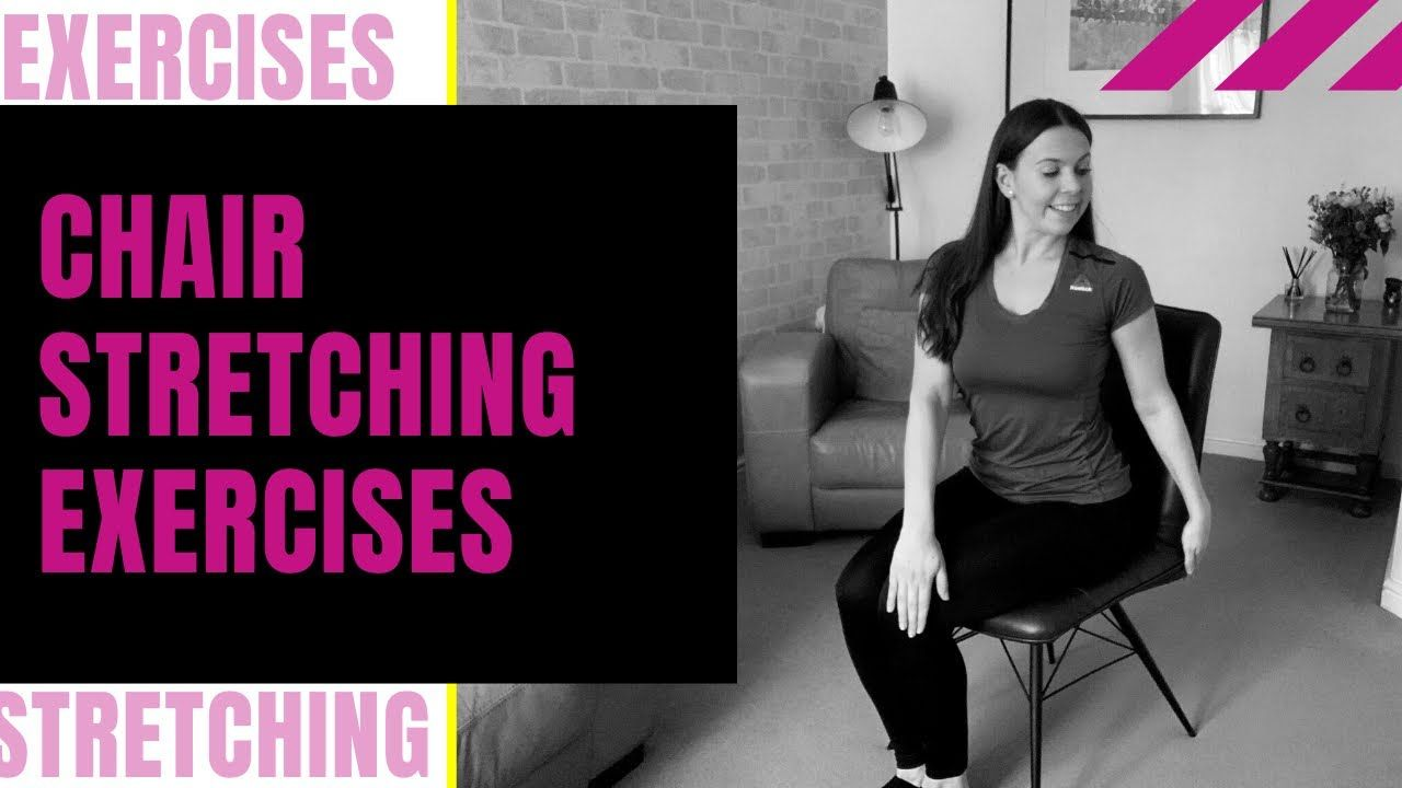 Chair Stretching Exercises For Seniors Youtube In 2020 Senior Fitness Stretching Exercises For Seniors Stretching Exercises