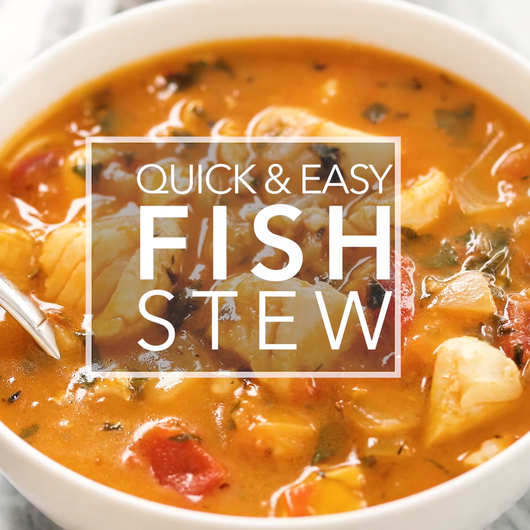 Quick & Easy Fish Stew