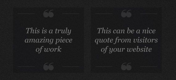 Freebie A Simple Quotation Template Psd
