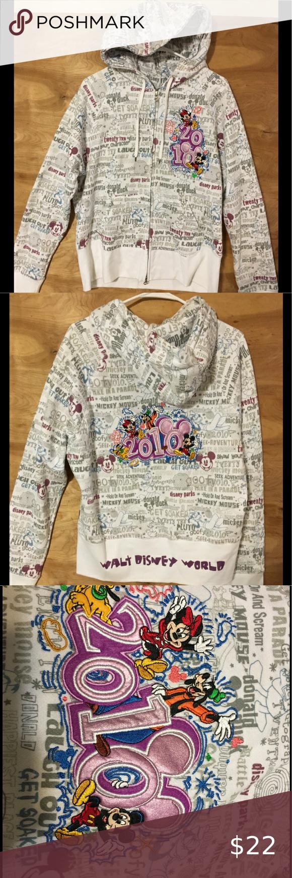 Walt Disney world resort zip up hoodie size XL Walt Disney world resort zip up h…