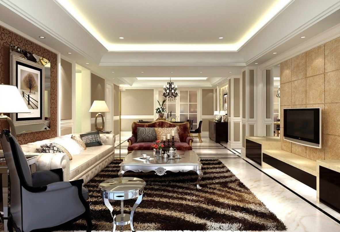 Round European Sofas White | Best Living room styles, Room style ...