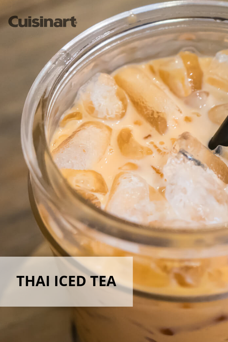 Thai Iced Tea Cuisinart Recipes Recipes Tea Recipes