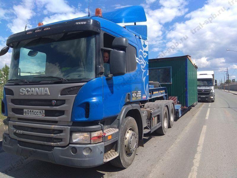 tral #negabarit #spb Перевозки негабаритных грузов по России