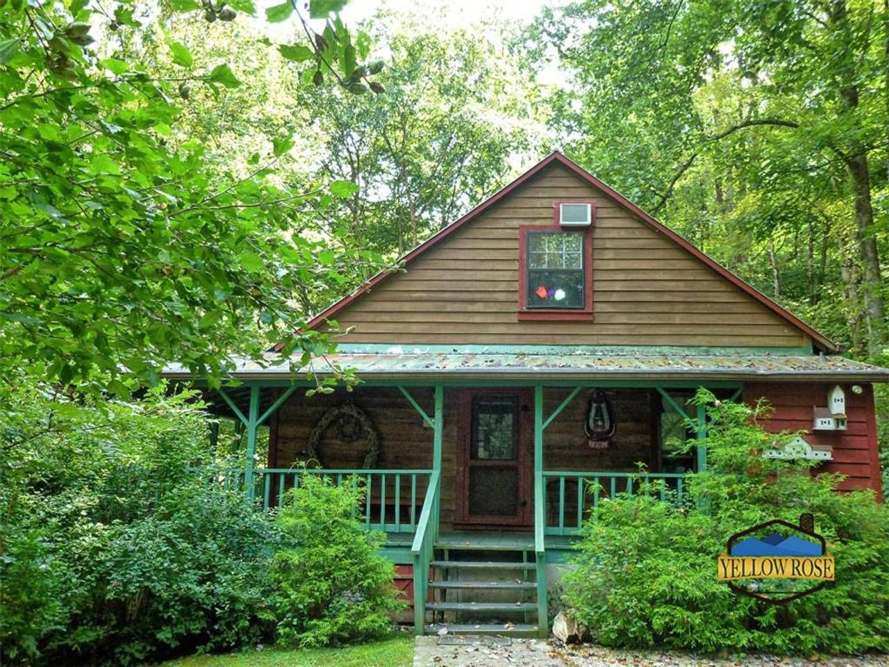 Larky Creek Lodge Cabins For Rent In Bryson City Cabin Bryson City Fishing Lodge