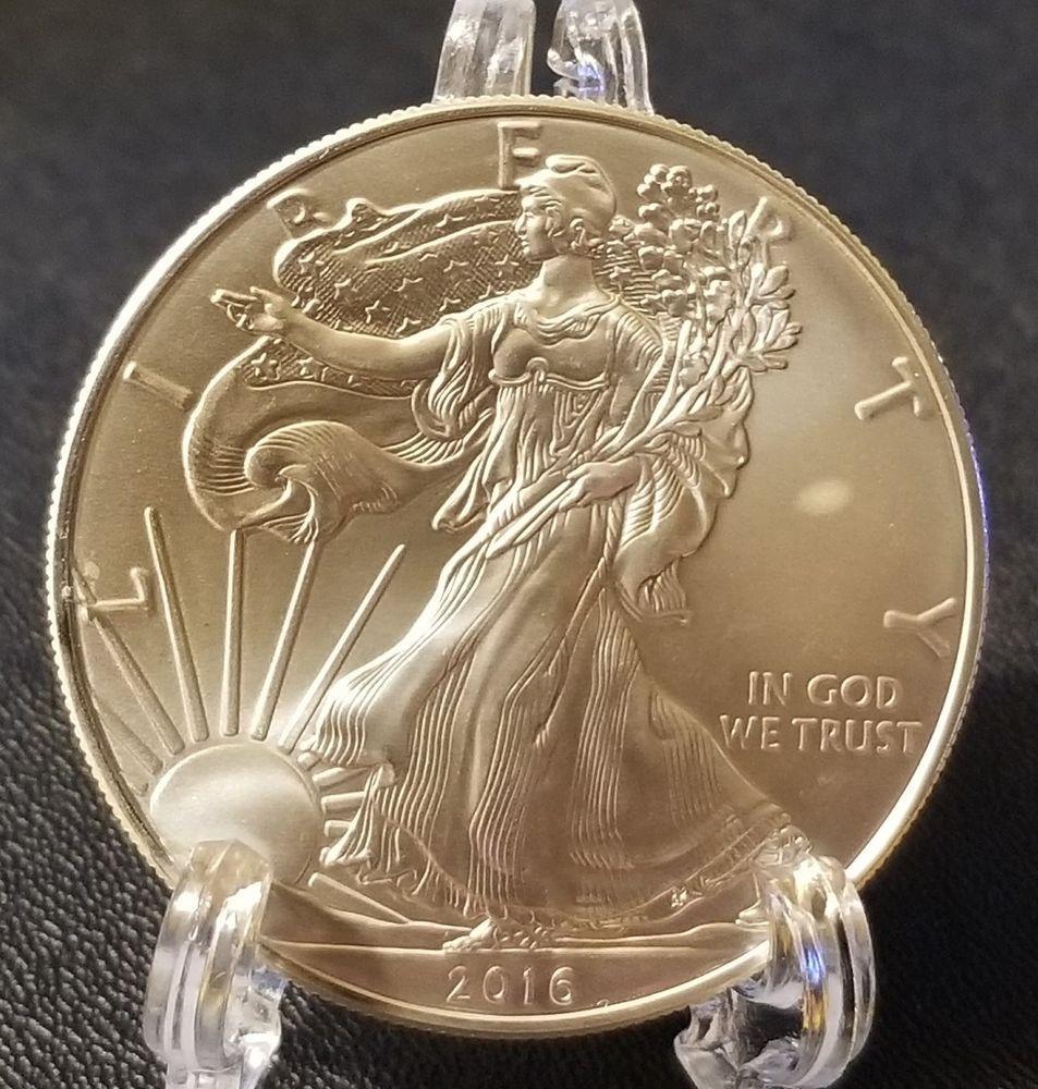 2016 Silver American Eagle 1 Oz 999 Pure Silver Bullion Coin Silver Bullion Coins Bullion Coins Silver Bullion