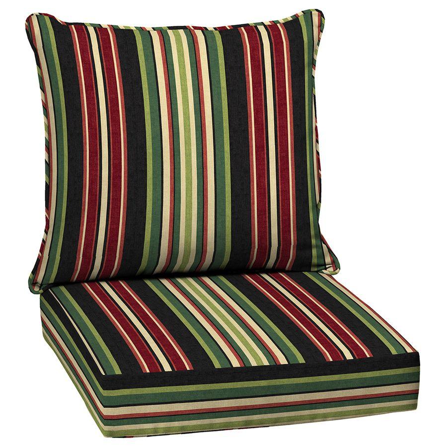 398 67 Garden Treasures Sanibel Stripe Cushion For Deep