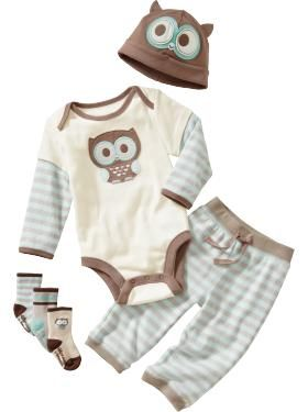 Owl Baby Clothes : clothes, Playtime, Essentials, Clothes,, Outfits,