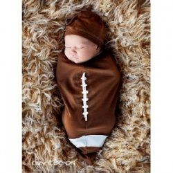 Dress your little athlete in a cute football costume for baby.  Choose a nice football costume for your baby from the best collection of baby...