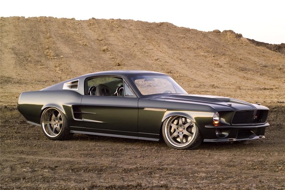 1967 Ford Mustang Custom Fastback Barrett Jackson Auction