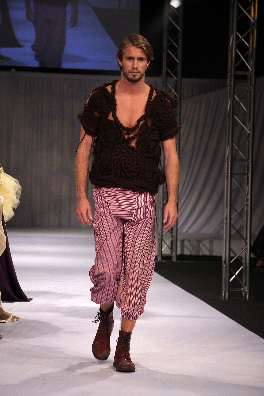 Designer Knitwear for Men Designer: Rebecca Timson