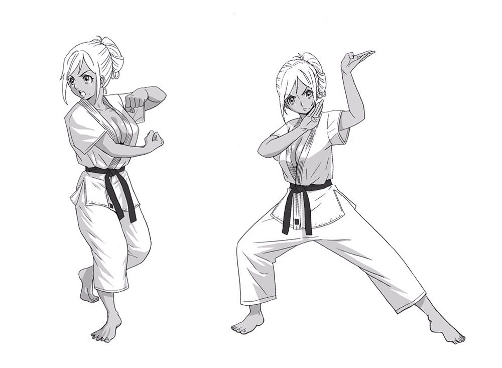 Pin By Tough Girls On Girls And Martial Arts Martial Arts Girl Martial Arts Kids Martial Arts Manga