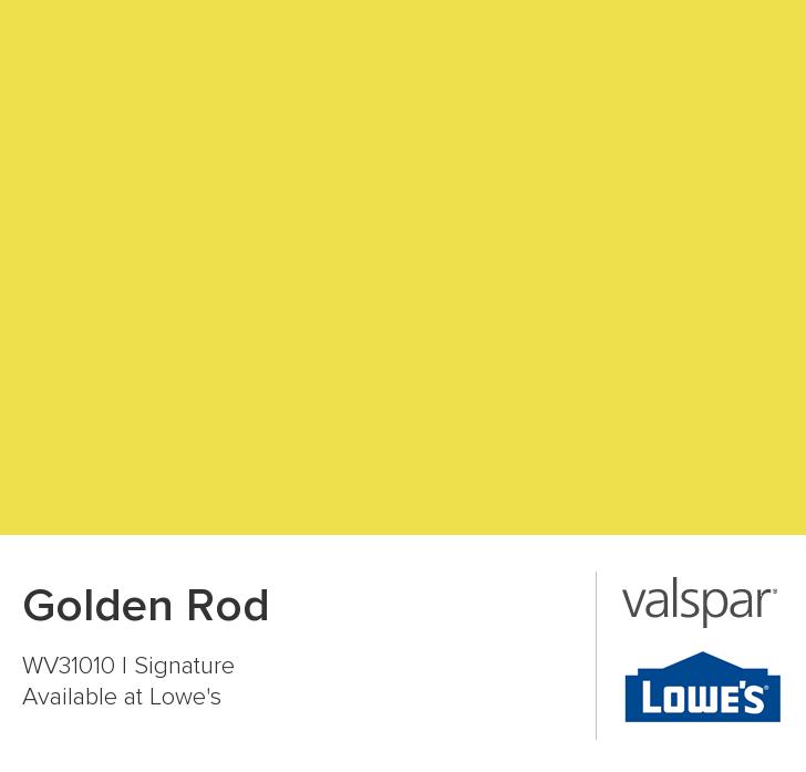 Golden Rod from Valspar