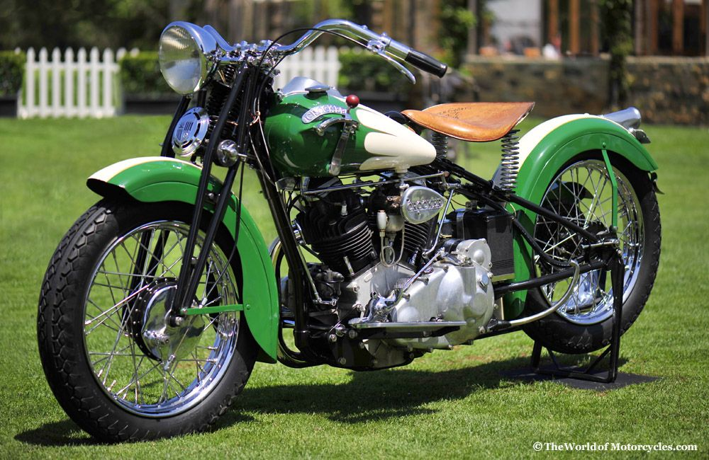 1939 Crocker 'Big Tank' 1200 Motorcycle