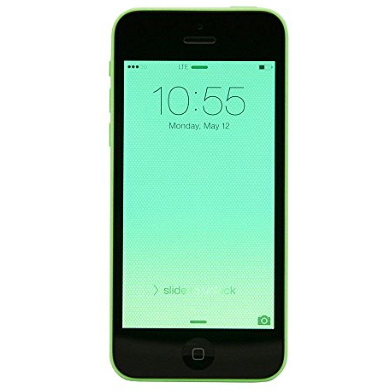 Apple iphone 5c a1532 verizon 16 gb cell phone green