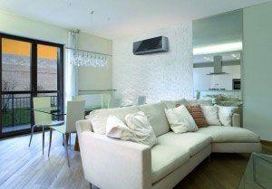 O ar-condicionado também pode ser objeto de decoração