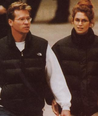 Cindy Crawford And Val Kilmer Celebrity Couples Former Current