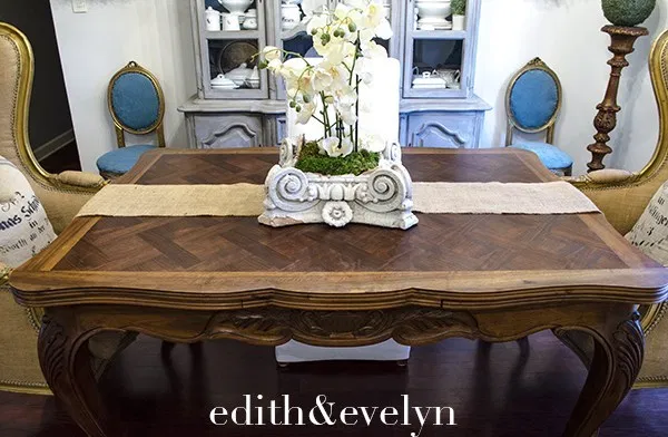 Antique French Country Dining Table Edith Evelyn In 2020