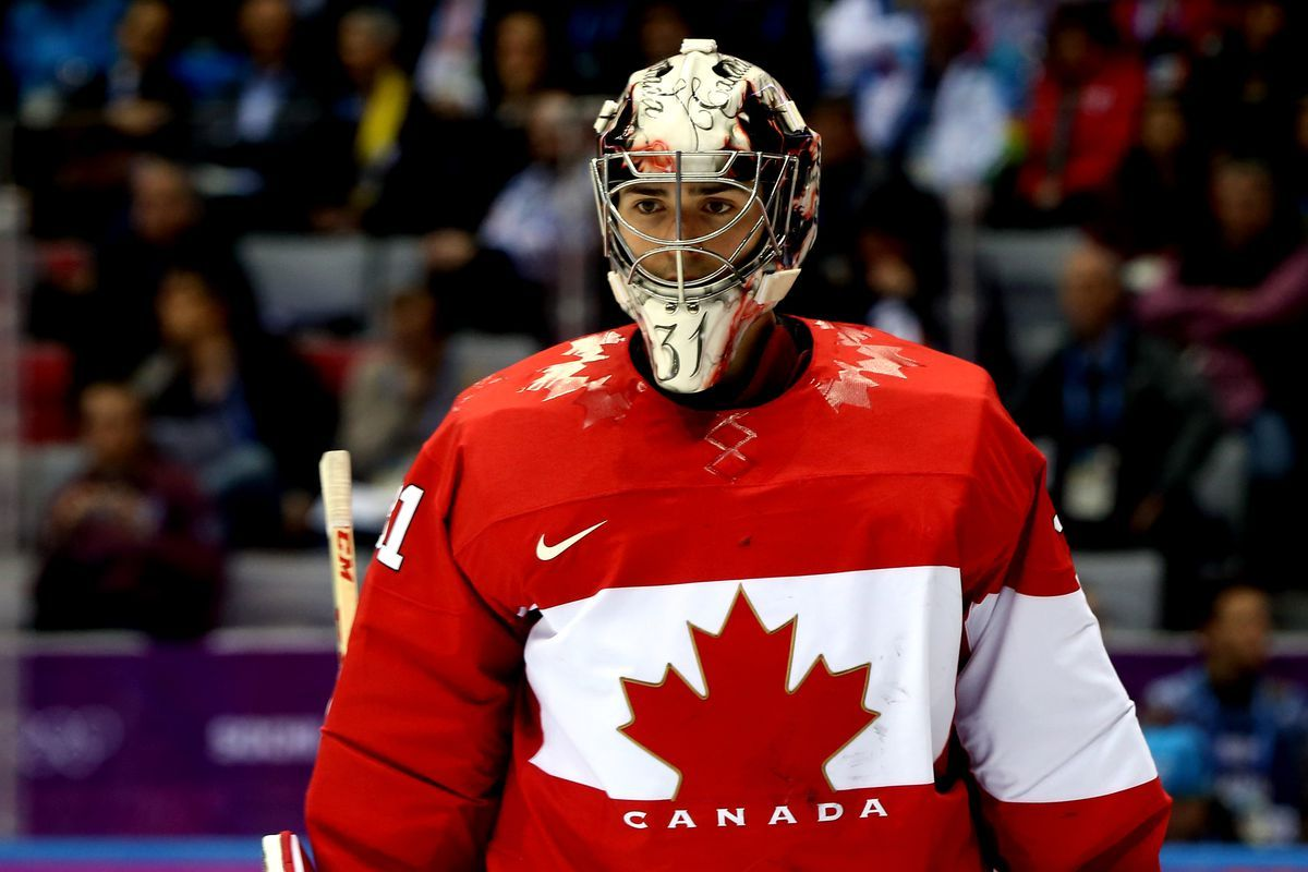 Pin By Big Daddy On Team Canada Goalies Olympic Hockey Hockey World Cup Team Canada Hockey