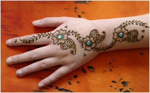 28 easy and simple mehndi designs that you can do by yourself 28 easy and simple mehndi designs that you can do by yourself solutioingenieria Image collections