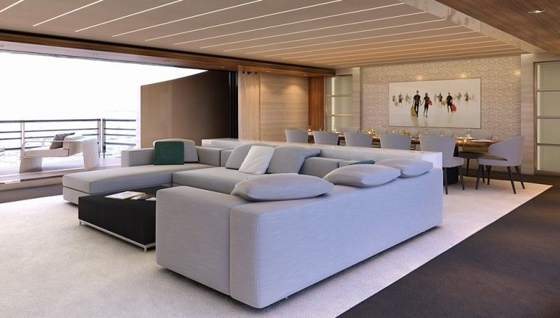 The Nearly 200-Foot SeaFalcon Superyacht Is Sleek, Sexy, and Highly Functional | Boating & Yachting
