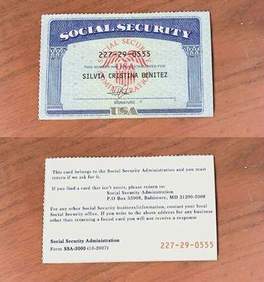 Social Security Card Social Security Number Ssn Ssc Social Security Card Id Card Template Passport Card