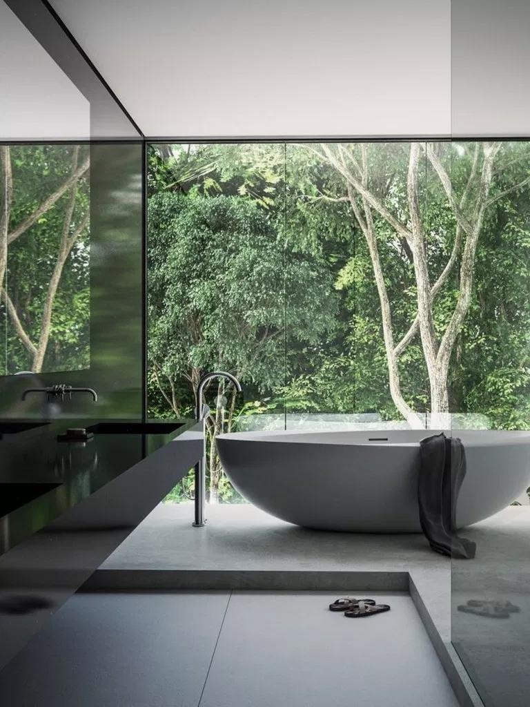 52 Erstaunliches Design für BadezimmerumbauIdeen