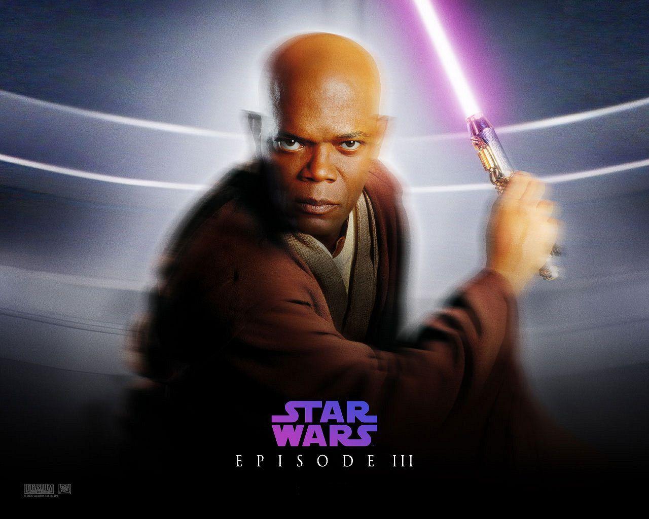 Mace Windu Star Wars Awesome Star Wars Episodes Star Wars Poster