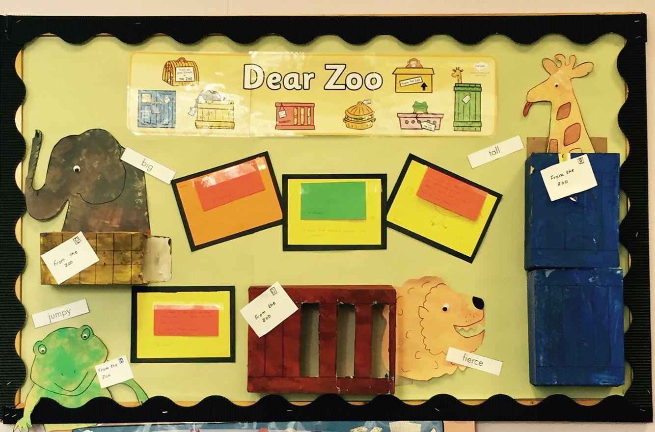 Dear Zoo Display Board