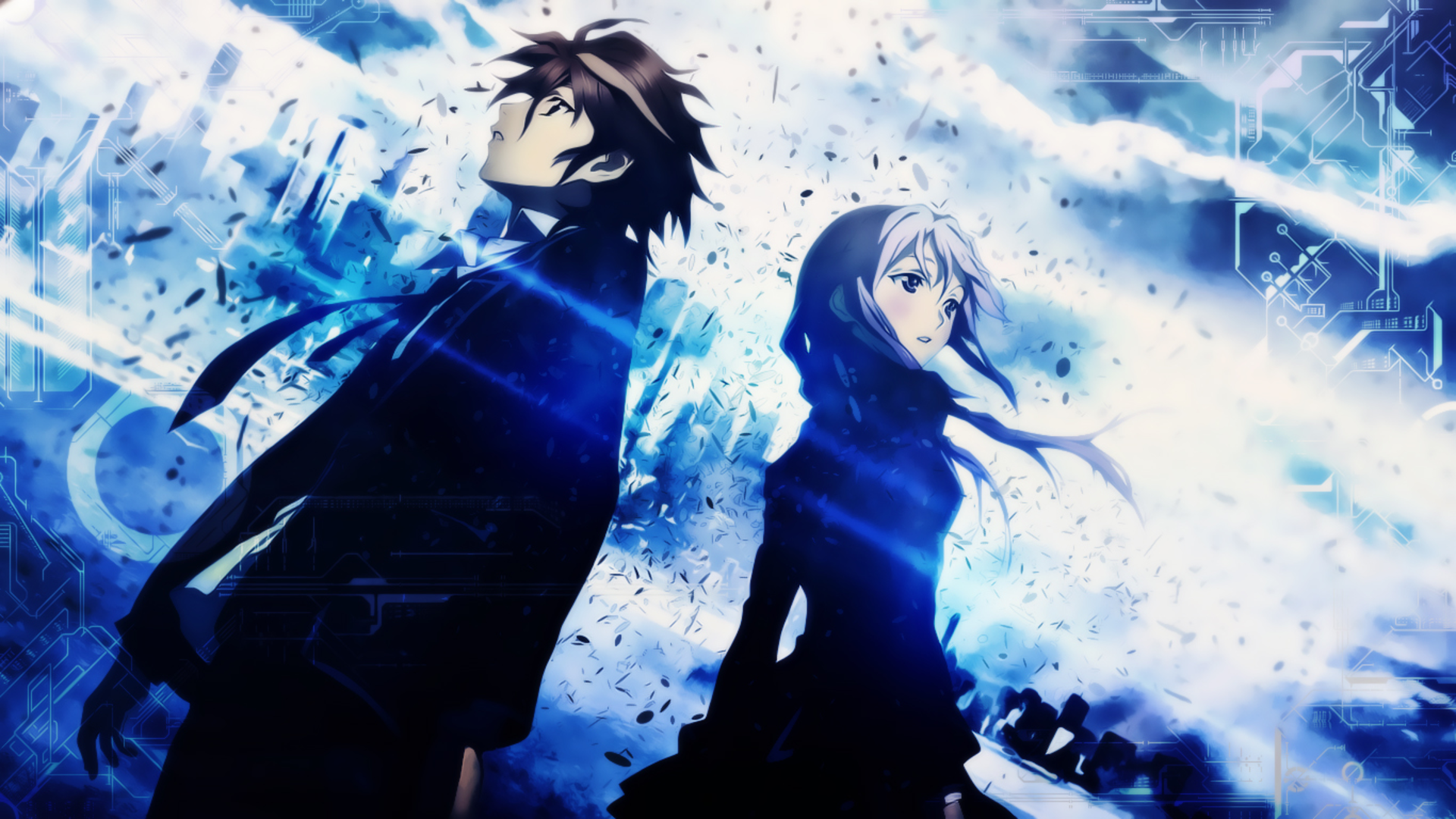 Anime Guilty Crown Shu Ouma Inori Yuzuriha Wallpaper