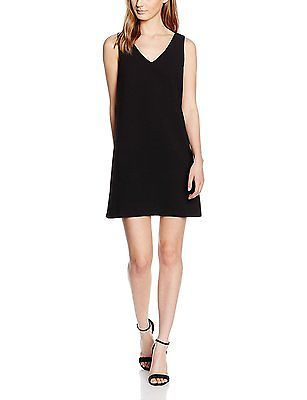 12, Noir (Black), Molly Bracken Women's T142h16 Dress NEW