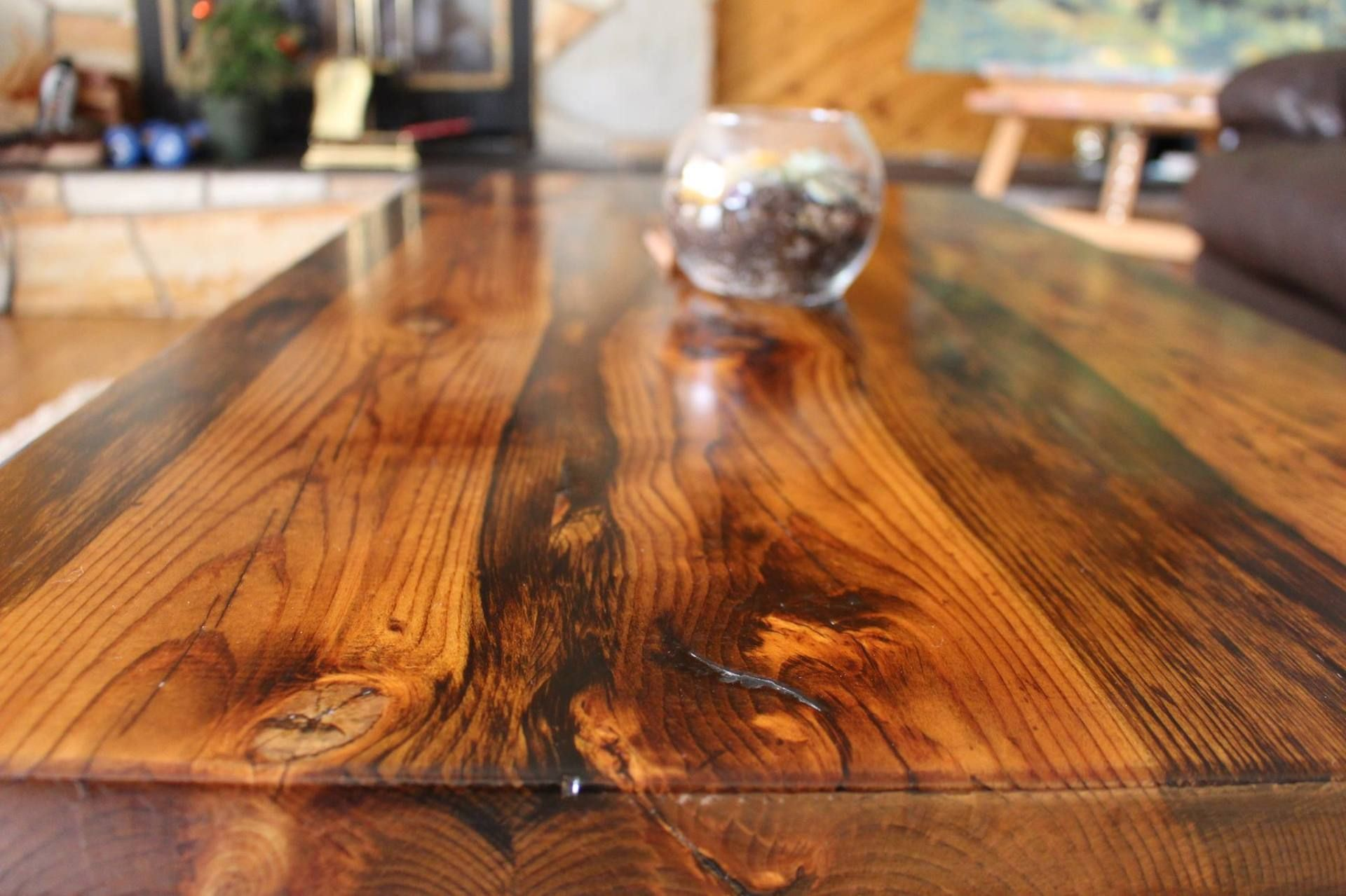 Reclaimed Wood Coffee Table 460.00 www.greenlightindustries.ca