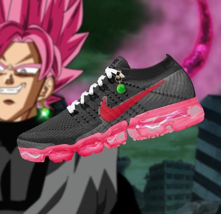 5c979360e1bf07 Nike air vapour max X dbz Goku black( Zamasu)