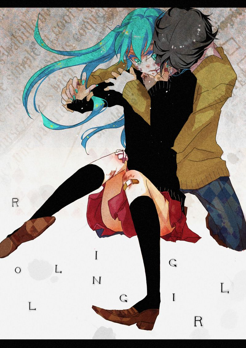 Vocaloids Channel Rolling Girl Miku Hatsune Hatsune Miku