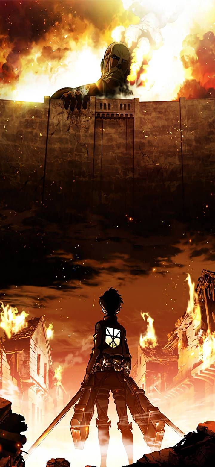 Attack on titan new wallpapers for mobile phones nerdss