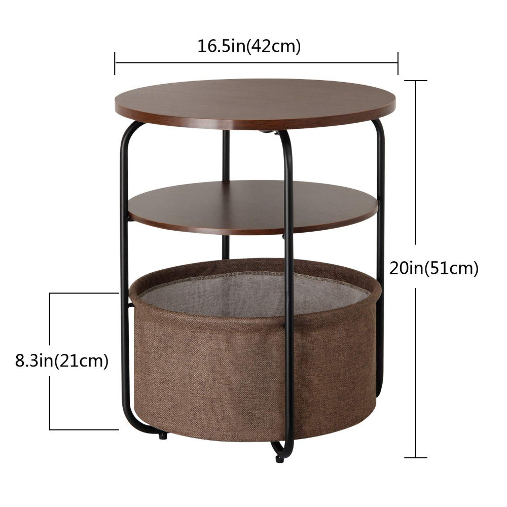 Best Amazon Com Lifewit Small Round Side Table End Table 640 x 480