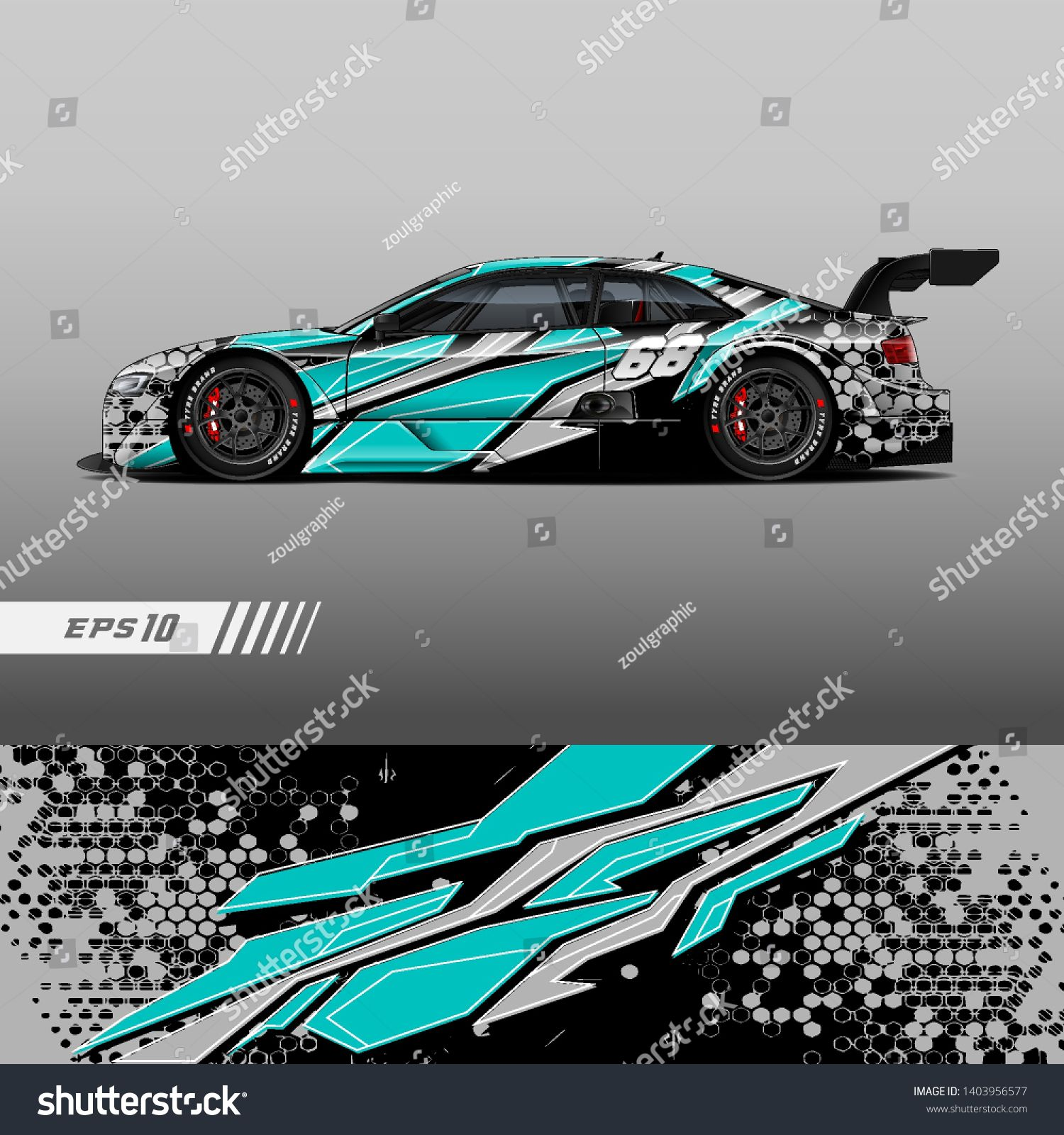 Race Car Decal Wrap Design Vector Graphic Abstract Stripe Racing Background Kit Designs For Vehicle Race Car Rally Car Decals Car Sticker Design Race Cars [ 1600 x 1500 Pixel ]