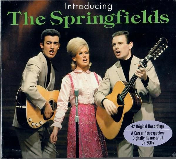 CD1: The Springfields1-1 Island Of Dreams 2:391-2 Breakaway 2:331-3 Silver Threads And Golden Needles 2:141-4 Dear John 2:291-5 Swahili Papa 2:171-6 Bambino 2:331-7 Allentown Jail 2:391-8 Gotta Travel On 2:071-9 Dear Hearts And Gentle People 3:031-10 Goodnight Irene 2:151-11 Wimoweh Mambo 1:571-12 The Johnson Boys 1:521-13 The Green Leaves Of Summer 2:181-14 Good News 1:531-15 Far Away Places 2:521-16 The Black Hills Of Dakota 2:291-17 Row Row Row 2:111-18 Lonesome Traveller 1:431-19 I Done What