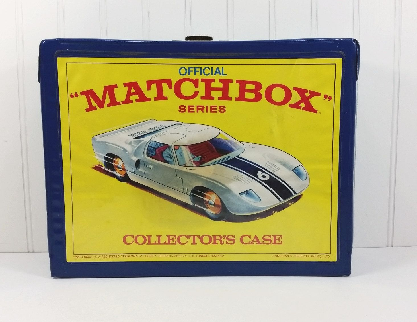 Official 1968 Lesney Matchbox Series Collectors Case by