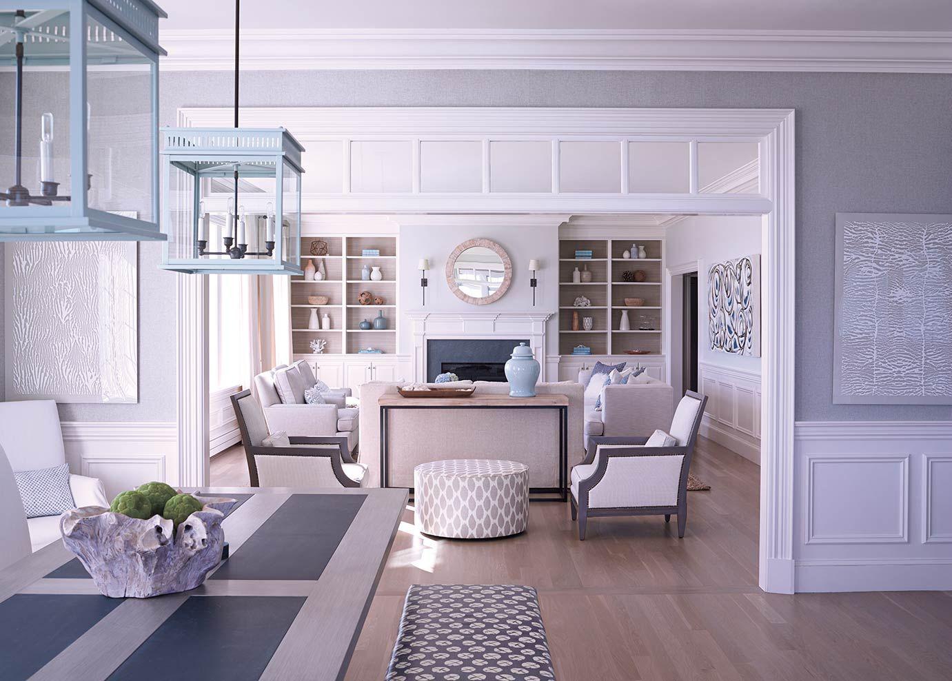Julie Stein Design | Cape cod style house, Home interior ...