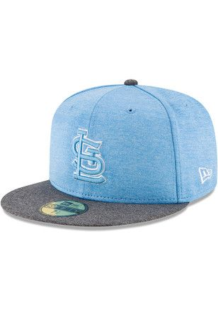 low priced ab4c9 5b84d STL Cardinals New Era Mens Grey 2017 Fathers Day AC 59FIFTY Fitted Hat