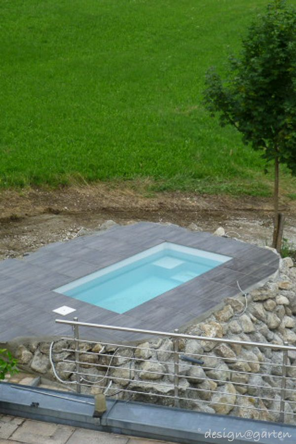 tauchbecken minipool pool pinterest mini pool tauchbecken und garten. Black Bedroom Furniture Sets. Home Design Ideas
